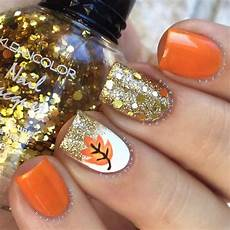 40 easy and attractive fall nail art ideas hobby lesson