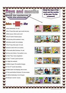 worksheets seasons and days of the week 14784 conjunctions worksheet free esl printable worksheets made by teachers