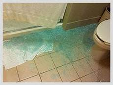 Bathroom Glass Door Shattered by Product Liability Rasansky Firm Personal Injury Lawyers