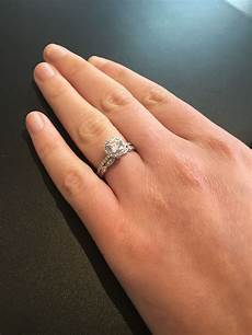this is it brilliant earth waverly engagement ring with the tiara wedding band one day in