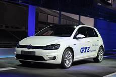 Volkswagen Golf Gte In Hybrid Shown In Geneva Auto