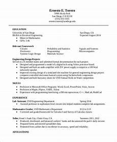 sle one page resume 9 exles in word pdf