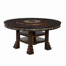 Kitchen Table With Lazy Susan by Designs Santa Fe 60 Quot Dining Table With Lazy