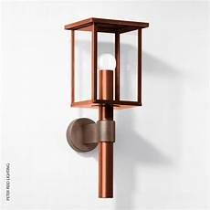 boom b 1228 copper bronze wall lantern led contemporary