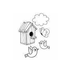 Malvorlagen Vogelhaus Gratis Ausmalbilder Malvorlagen Vogelhaus Kostenlos Zum