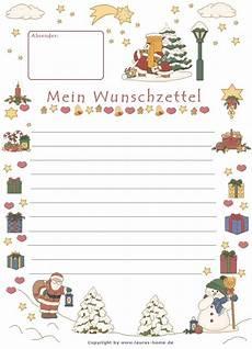 Malvorlagen Weihnachten Wunschzettel Wunschzettel Vorlage Briefpapier Weihnachten