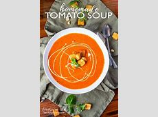 tomato soup from scratch using canned tomatoes