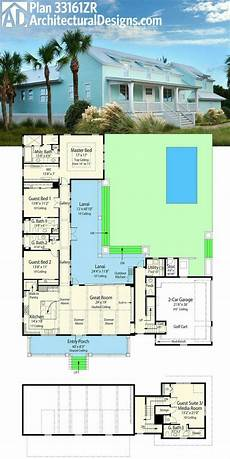 l shaped house plans 9 best house plans h style with swimming pool images on