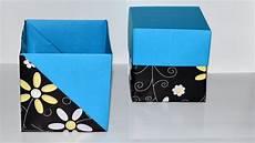 comment fabriquer une boite cadeau facile diy boite
