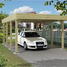 Carport Bois Jaarma 1 Voiture 18 5 M 178 Leroy Merlin