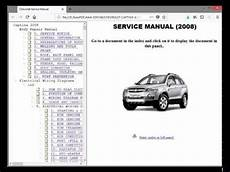 small engine repair manuals free download 2007 chevrolet aveo user handbook chevrolet captiva captiva sport workshop service repair manual wiring youtube