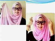 Tutorial 6 Cara Pakai Jilbab Segi Empat Yang Simple