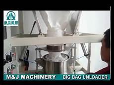 1 ton bulk bag unloading system jumbo bag discharging