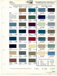 1979 gmc paint colors