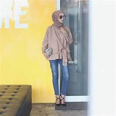 Clutch Bag Hijabers 30 model baju blouse ala selebgram terbaik model