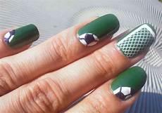 concrete and nail polish soccer nail art