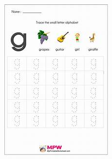 small letter g worksheets 24640 small letter alphabets tracing and writing worksheets printable