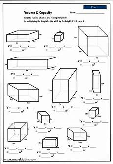 volume measurement worksheets grade 4 1631 calculating the volume of rectangular prisms mathematics skills geometry