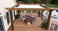 25 Collection Of Shade Sail Pergola With Canopy