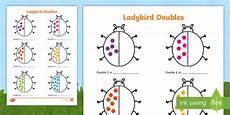 ladybird doubles to 20 worksheet activity sheet worksheet