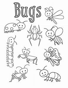 bugs coloring pages 171 funnycrafts