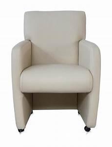 bequeme esszimmerstühle mit armlehne stuhl auf rollen mit moderner armlehne in wei 223 sessel