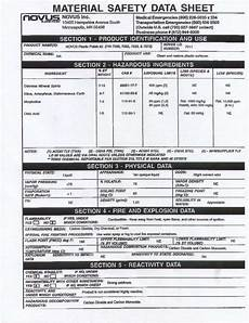 material data sheets ford safety data sheets