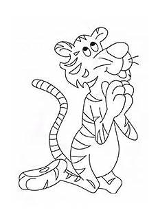 Malvorlagen Tiger Pool Printable Tigers Malvorlagen