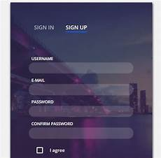 beautiful html css sign up and registration form registration form form css css