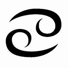 The Cancer Symbol Glyph Ideas Cancer Symbol Zodiac