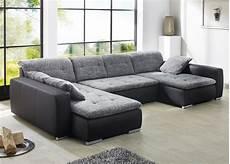günstig sofa kaufen sofa ferun 365x200 185cm webstoff anthrazit