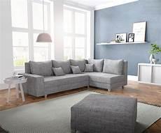 couch mit ottomane couch panama hellgrau ottomane rechts mit hocker ecksofa