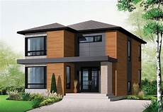Modernes Einfamilienhaus Grundriss - modern style house plan 76317 with 1852 sq ft 3 bed 1