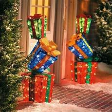 Sales Of Decorations by Last One 52 Quot Lighted 3 Stacked Gift Boxes