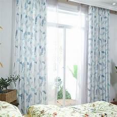 vorhang wohnzimmer vorhang mit fischen motiv blau f 252 r wohnzimmer vorh 228 nge