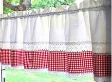 gardinen rot gardinen gardine landhaus romantisch wei 223 rot kariert ein