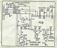 carrier split type aircon wiring diagram