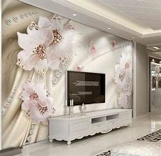 custom 3d wallpaper luxury flowers 3d photo wallpaper