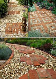 gravel walkways with stepping stones gravel walkways with