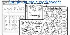 jungle animal worksheets 14319 jungle animals worksheets