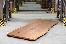 massivholz tischplatte buche mit baumkante nach ma 223