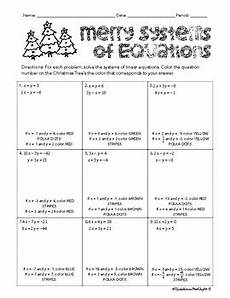 color by number systems of equations worksheet 16138 solving systems of linear equations color by numbers by livelovelaughmath