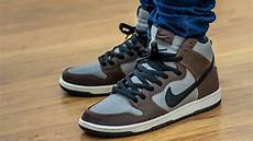 fancy nike dunk high sb baroque brown on sneaker