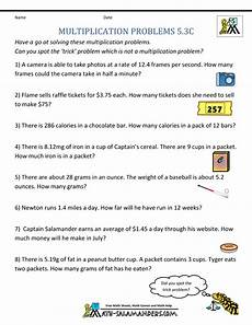 multiplication word problems grade 3 worksheets free 4826 multiplication problems printable 5th grade