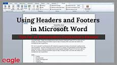 resume header word 207 ms word tip using headers and footers in your resume youtube