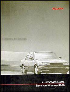 car service manuals pdf 1988 acura legend interior lighting 1988 acura legend sedan repair shop manual original