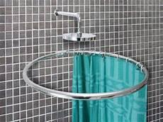 duschvorhangstange rund alu ringstange weiss rund 216 100 cm duschvorhangstange
