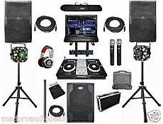 dj kits for sale dj equipment packages with subwoofers for sale ebay