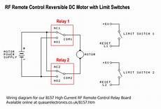 dc motor reversing circuit timer or remote control quasar electronics