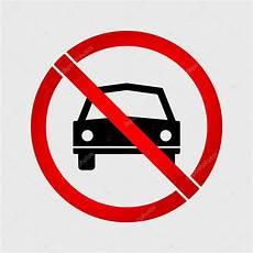 interdiction voiture aucun signe d interdiction voiture ou pas de parking image vectorielle alexeyblogoodf 169 93898628